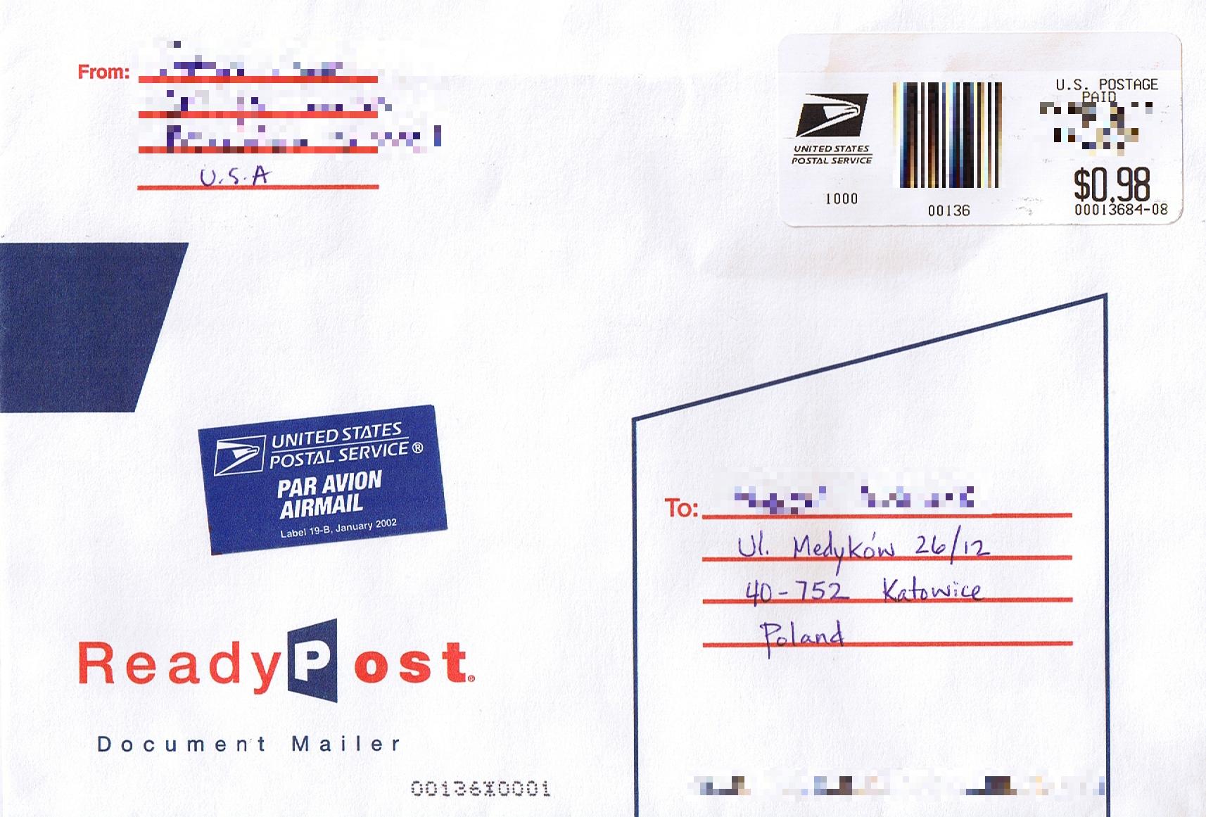 how to write a polish address